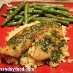 tilapia with lemon herb butter