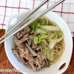 slow cooker asian pork and noodle soup
