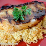 caribbean citrus marinated grilled sea bass