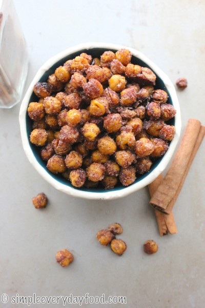 Crispy Cinnamon Garbanzo Beans Recipe — Dishmaps