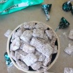 mint chocolate puppy chow