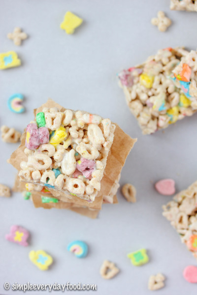 lucky charms bars